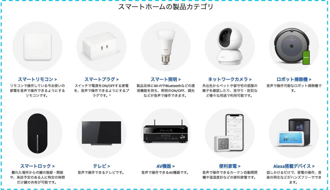 スマート家電 アレクサ対応 照明 プラグ スイッチ 防犯カメラ
